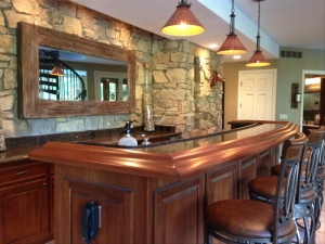 Saline MI Quartz Countertops- Cambria Quartz | Dexter Cabinet & Countertop - bar_angled_photo