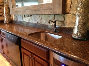 Countertop Installation Ann Arbor MI- Cambria Quartz | Dexter Cabinet & Countertop - bar_photo